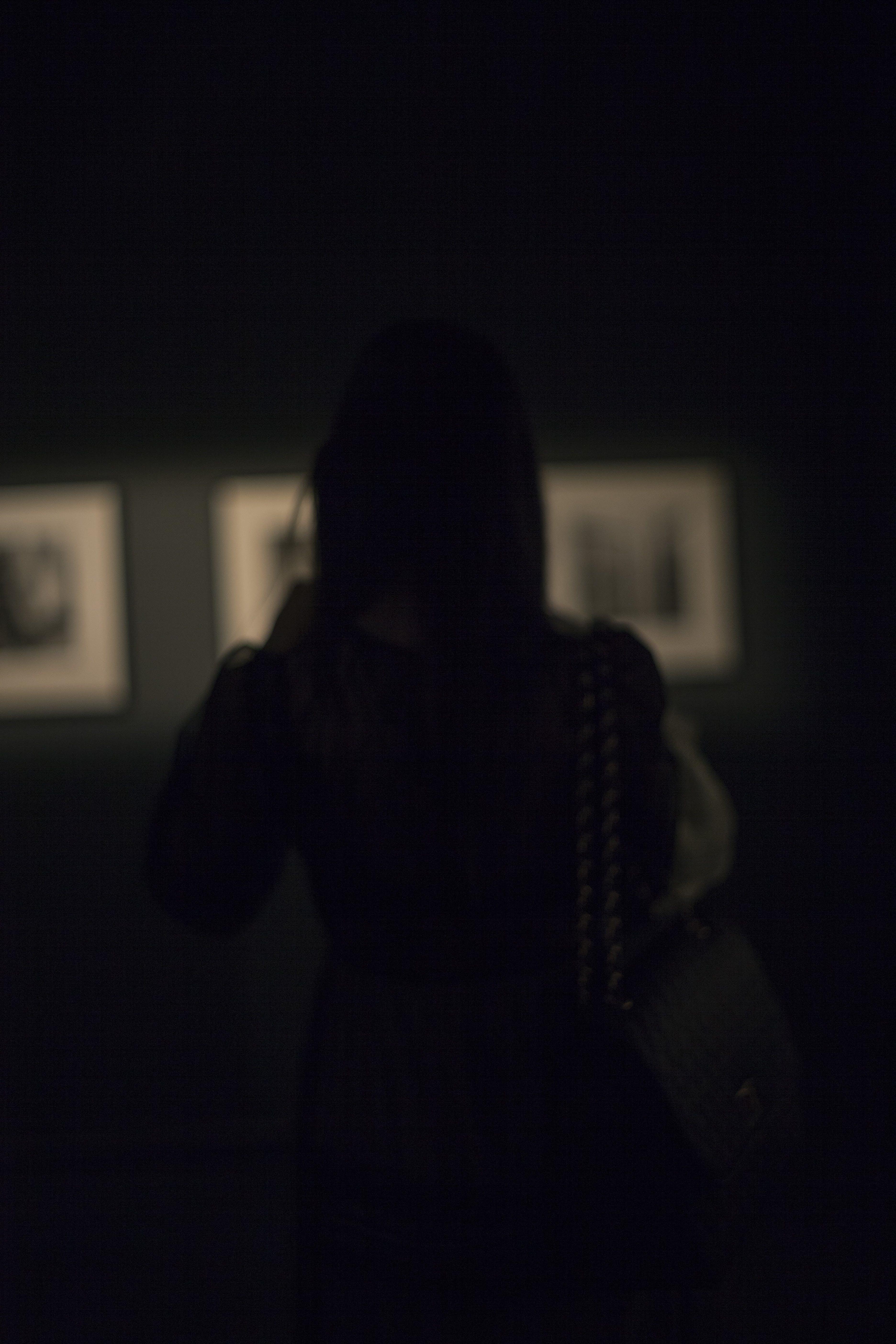 Free stock photo of art, night, girl, paint