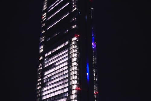Kostnadsfri bild av arkitektonisk design, arkitektur. stad, natt, storstad