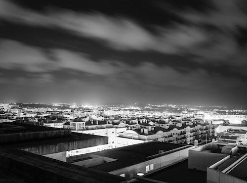 Imagine de stoc gratuită din acoperiș, alb-negru, caldas da rainha, cer