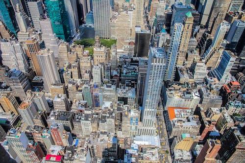 Gratis lagerfoto af by, bygninger, fra oven, fugleperspektiv
