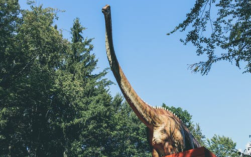 Brown Dinosaur