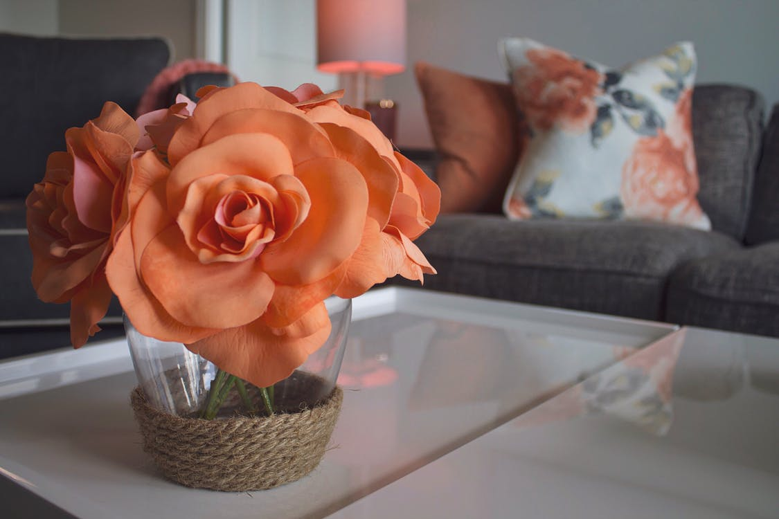 artificial flowers, beautiful flowers, bunch of flowers