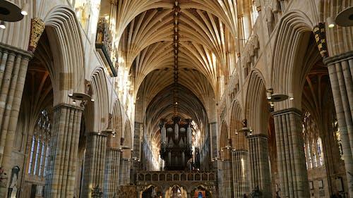Základová fotografie zdarma na téma architektura, církev, exeter, katedrála