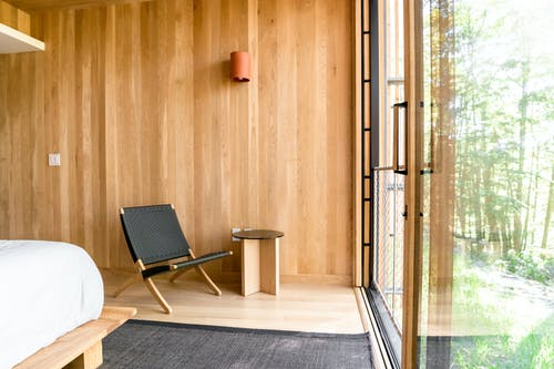 Free stock photo of aframe, aframe cabin, airbnb