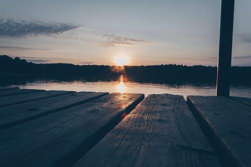 Gratis arkivbilde med daggry, hav, himmel, kveld