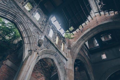 Imagine de stoc gratuită din abandonat, arc, arhitectură, biserică