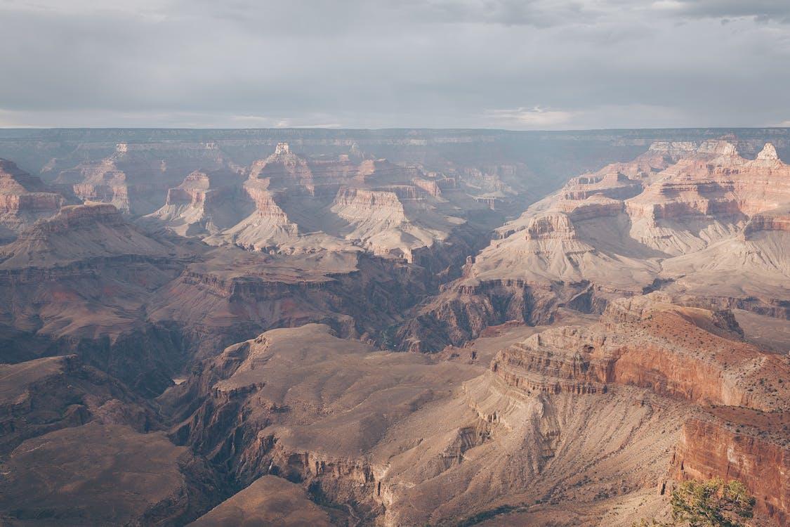 bergen, dagsljus, geologi