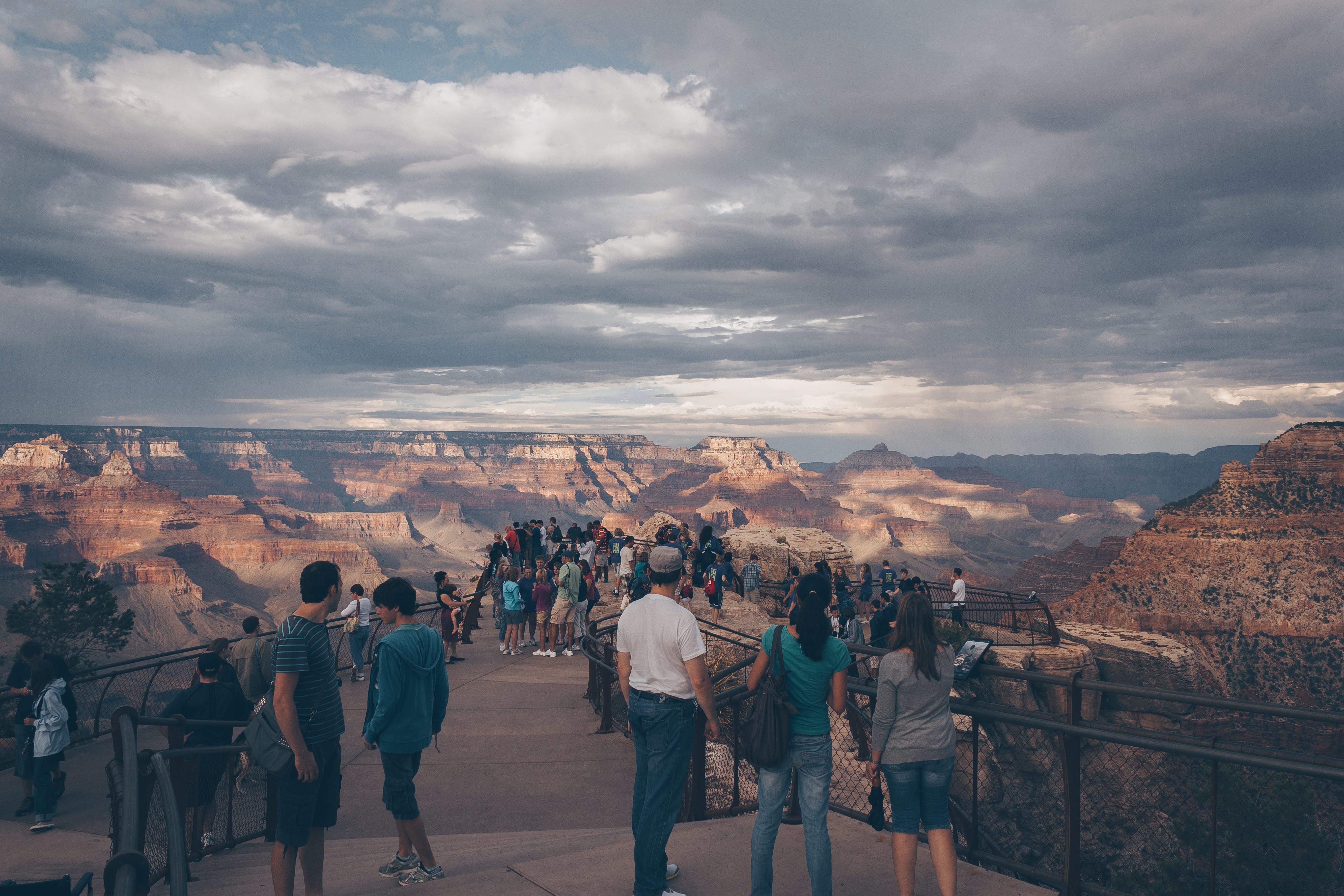 Kostenloses Stock Foto zu abenteuer, berg, canyon, erholung