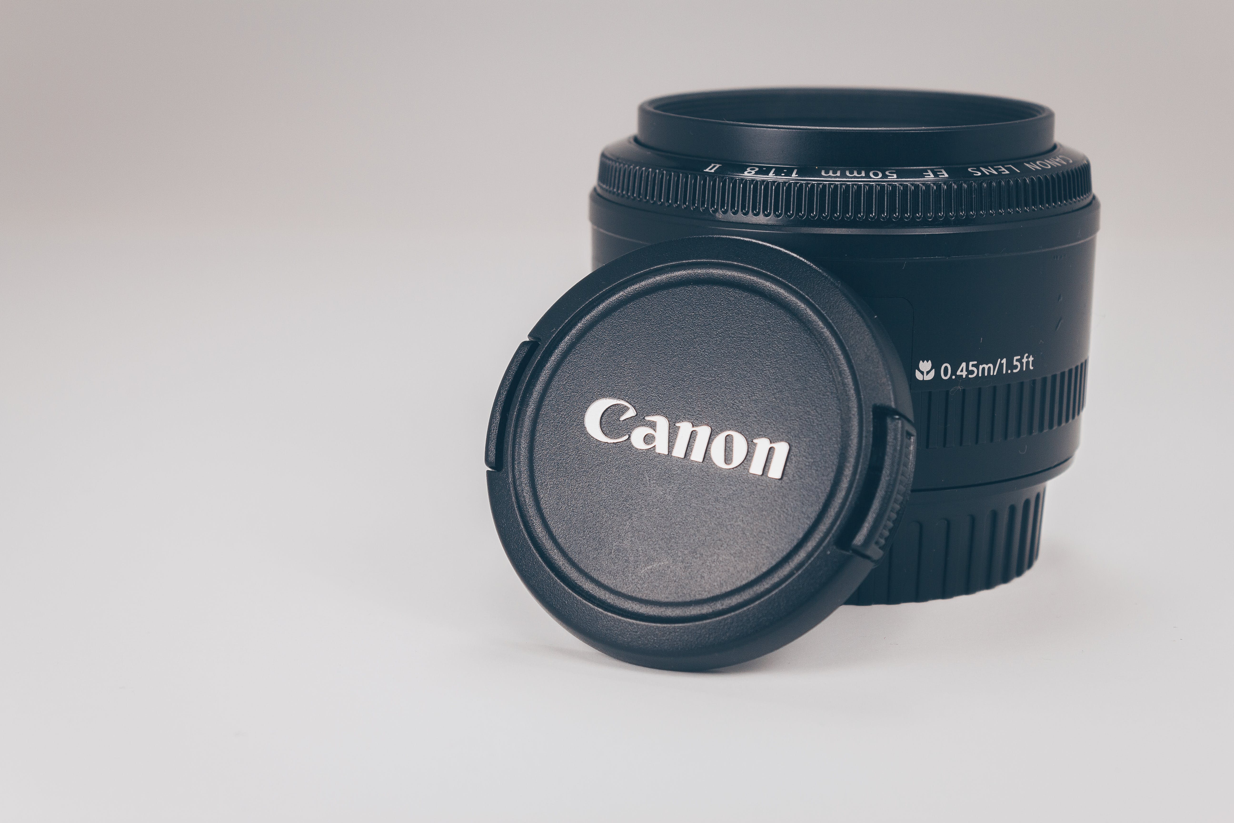 Black Canon Camera Lens
