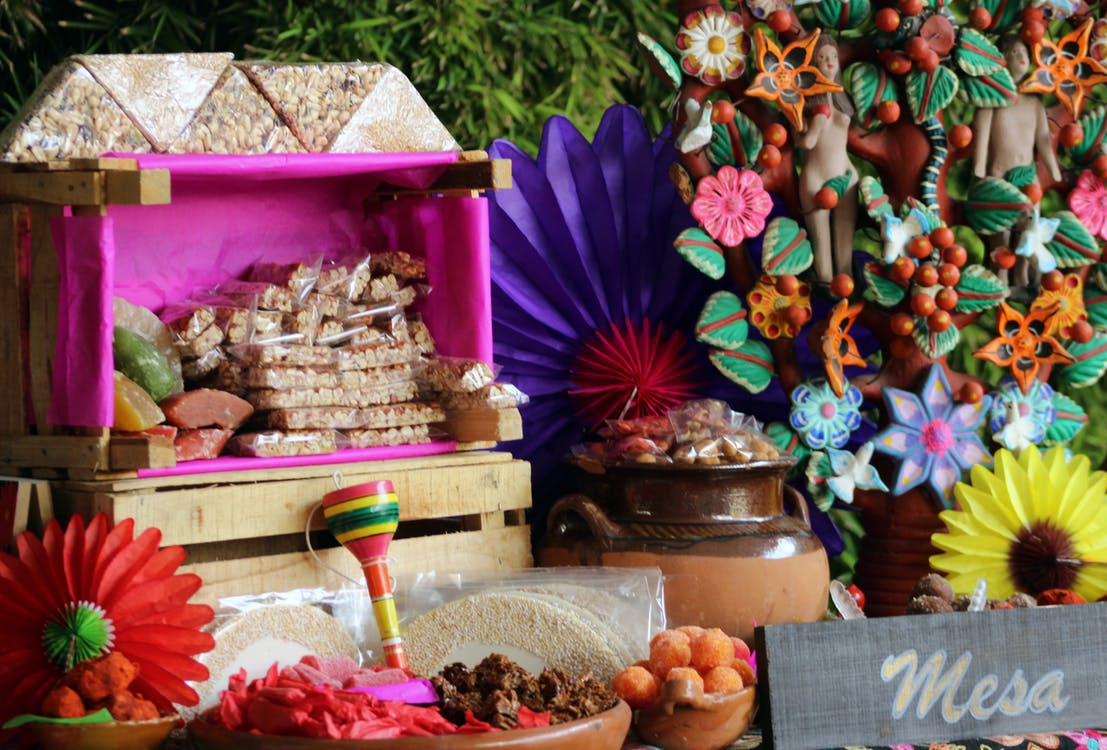 candies, mexican, wedding party