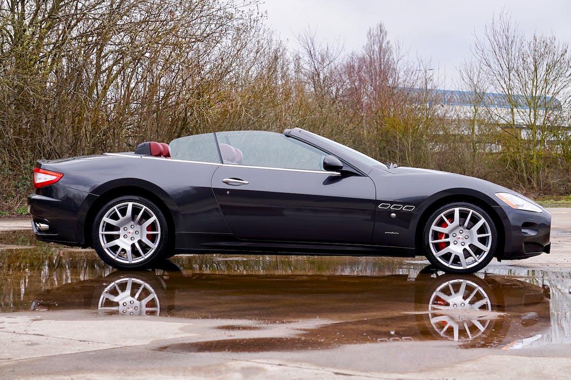 Black Convertible Coupe