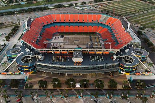 Imagine de stoc gratuită din arenă, deasupra, Fotbal american, la înălțime