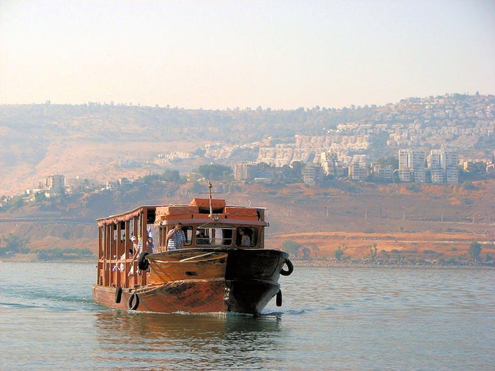 barcă, Israel, marea galileii
