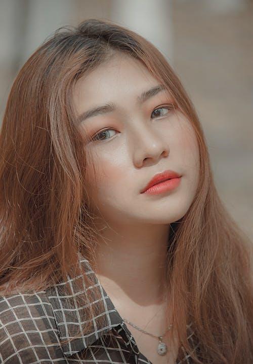 Безкоштовне стокове фото на тему «азіатська дівчина, волосина, Гарний, губи»