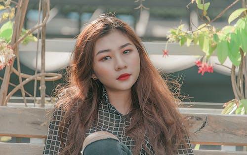 Foto profissional grátis de ao ar livre, Asiático, atraente, bonita