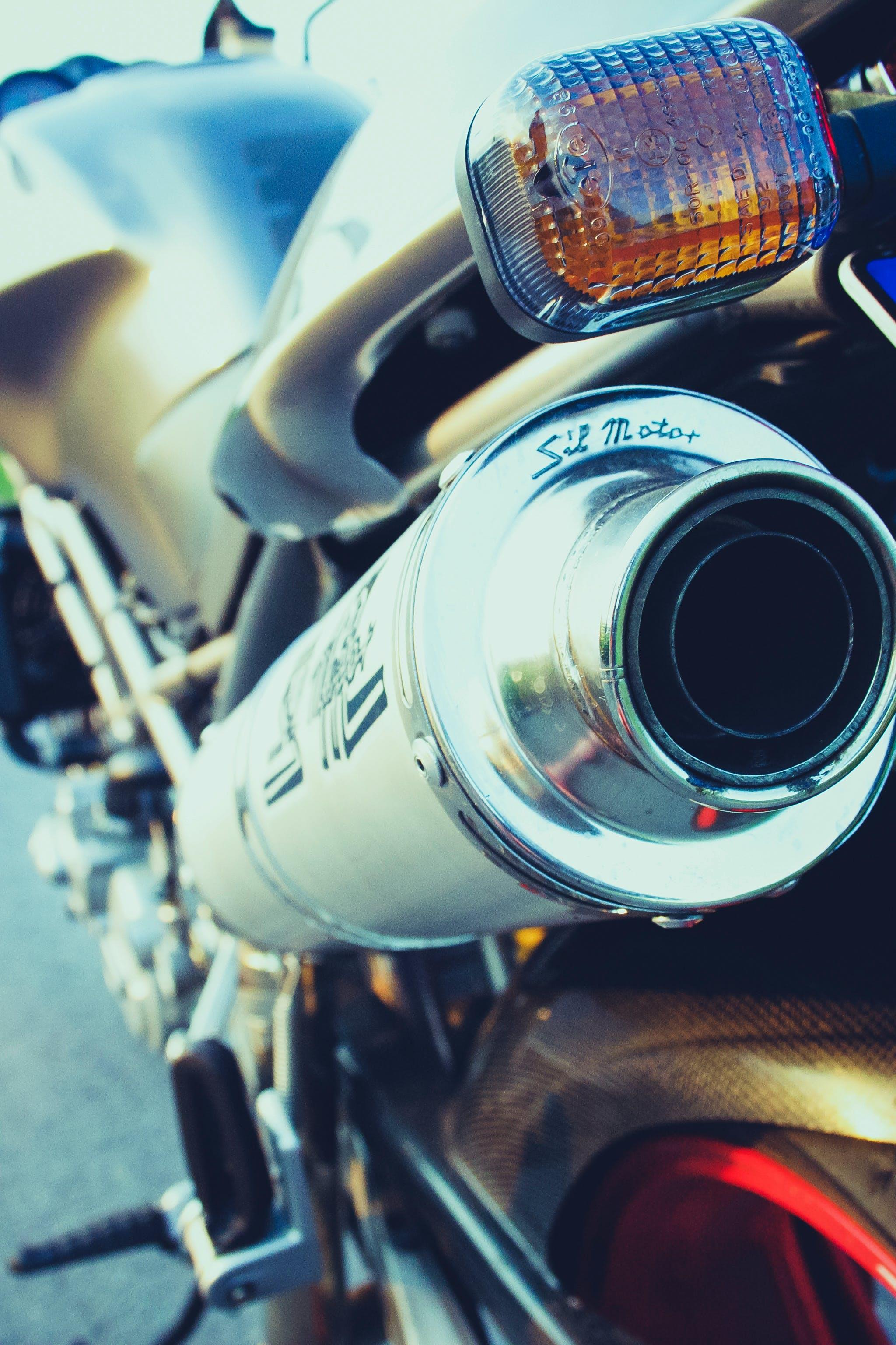 Free stock photo of bike, ducati, exhaust pipe, motor racing