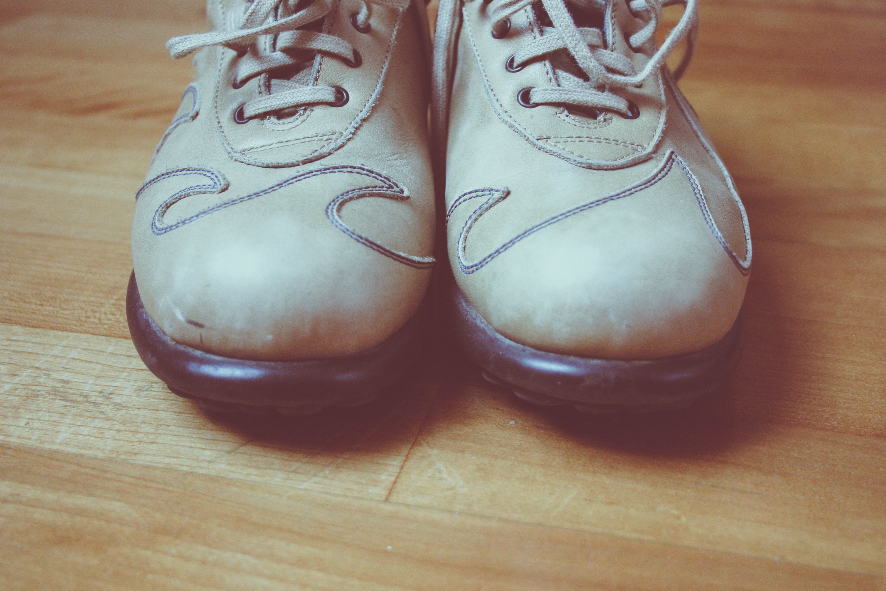 Pair of Brown Shoes