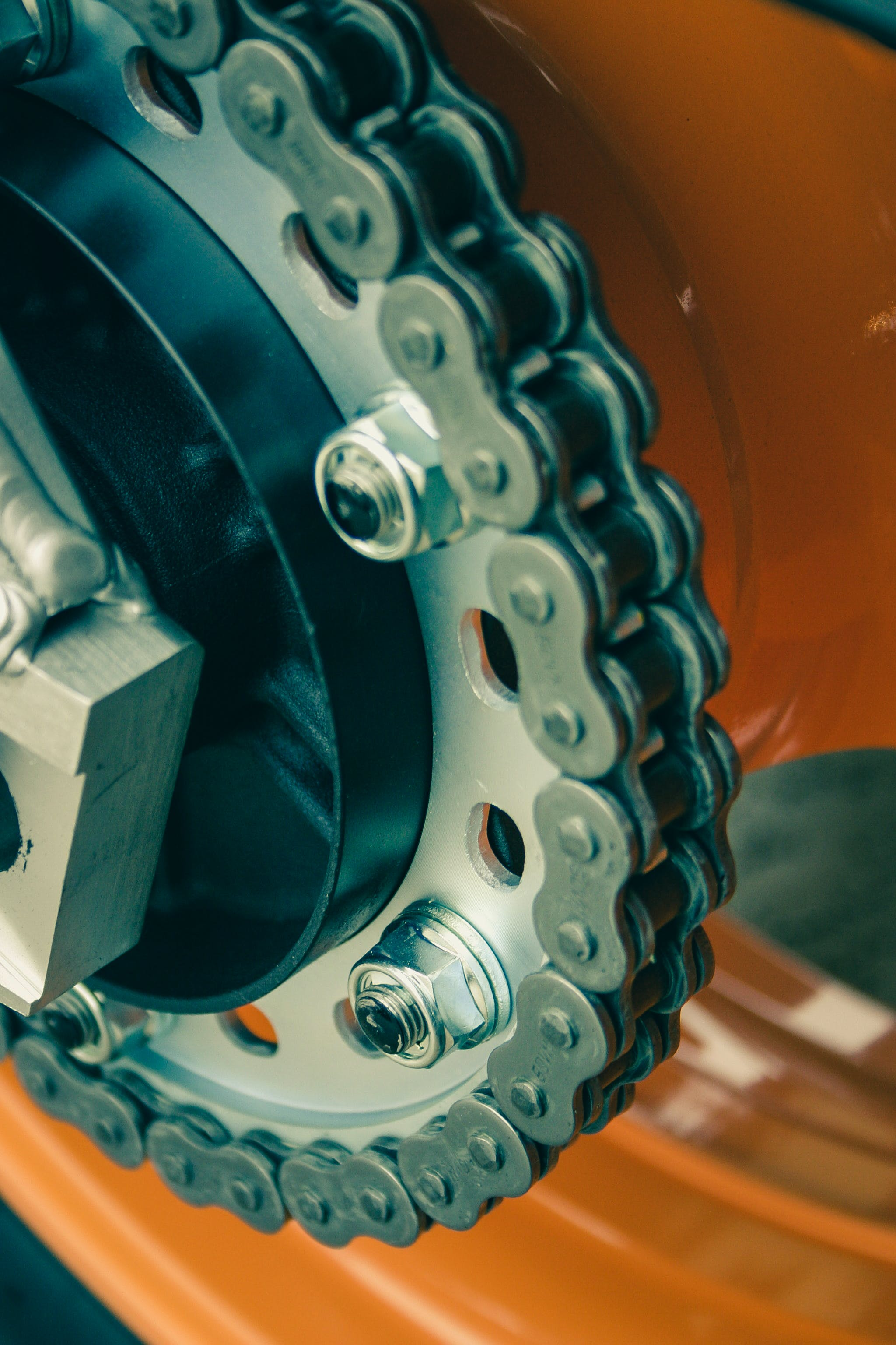 Free stock photo of chain, drive chain, gear, gear wheel