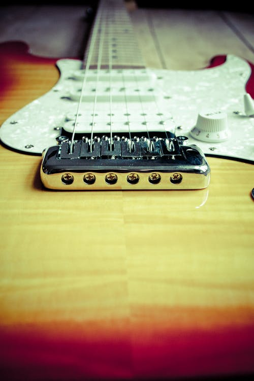 Free stock photo of close-up, electric guitar, guitar, musical instrument