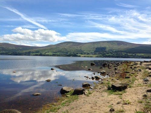 Free stock photo of cloud, landscape, nature, reservoir