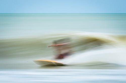 Darmowe zdjęcie z galerii z deska surfingowa, fotografia surfowania, kite surfer
