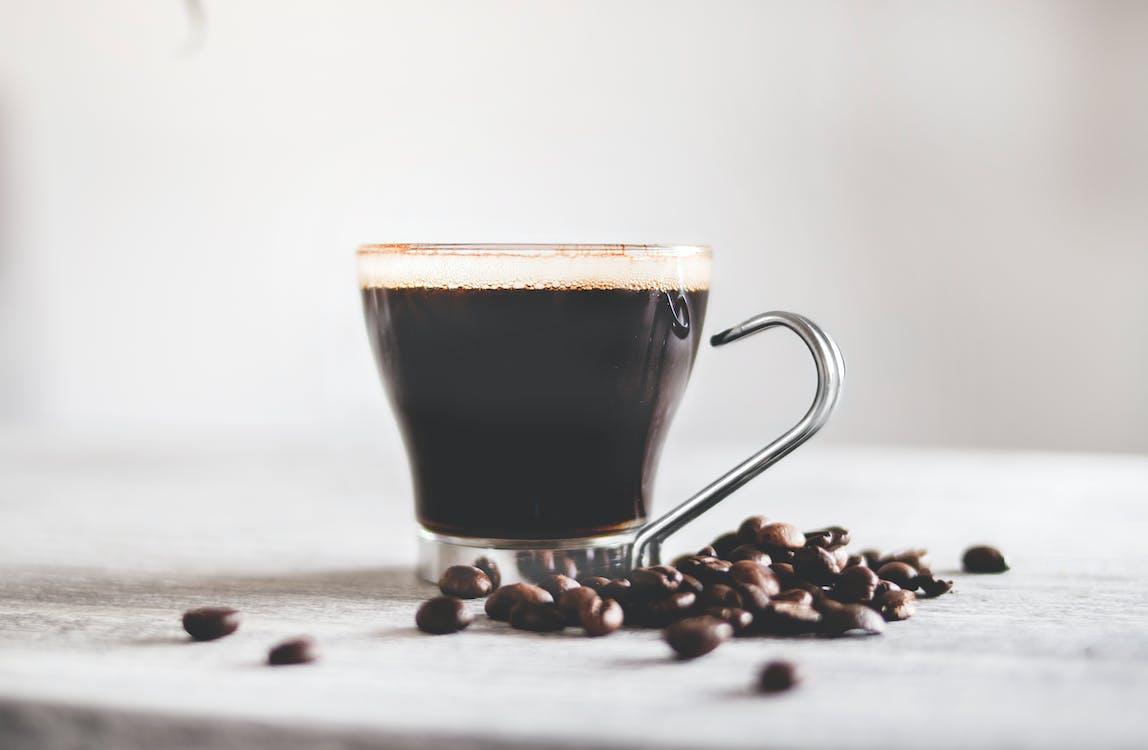 Ароматический, горячий, кофе