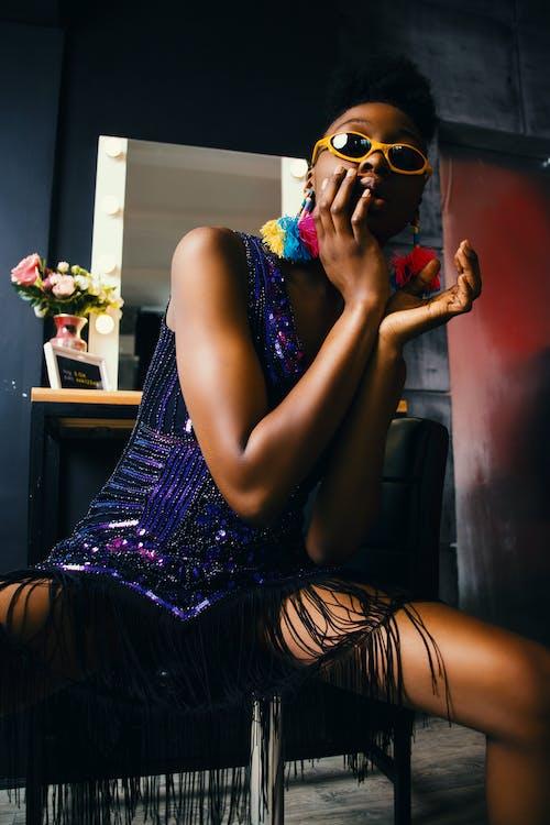 Fotos de stock gratuitas de actitud, adulto, belleza, chica de raza negra