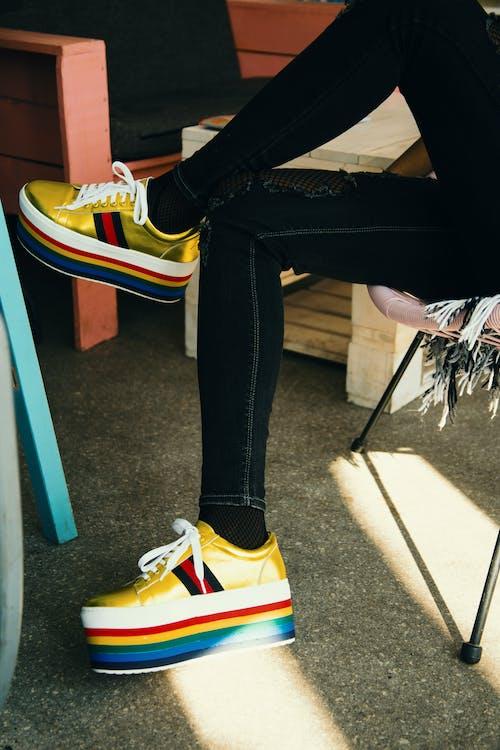 Foto De Zapatillas Coloridas