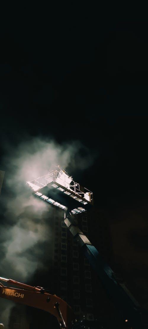 Darmowe zdjęcie z galerii z architektura, ciemny, eksploracja