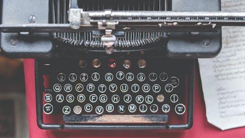 Kostenloses Stock Foto zu alphabete, antik, ausrüstung, maschine