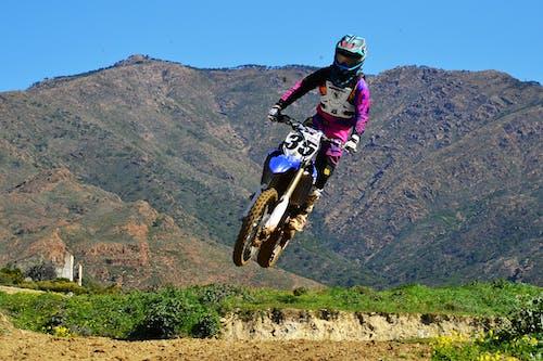 Free stock photo of biker, motocross, raider