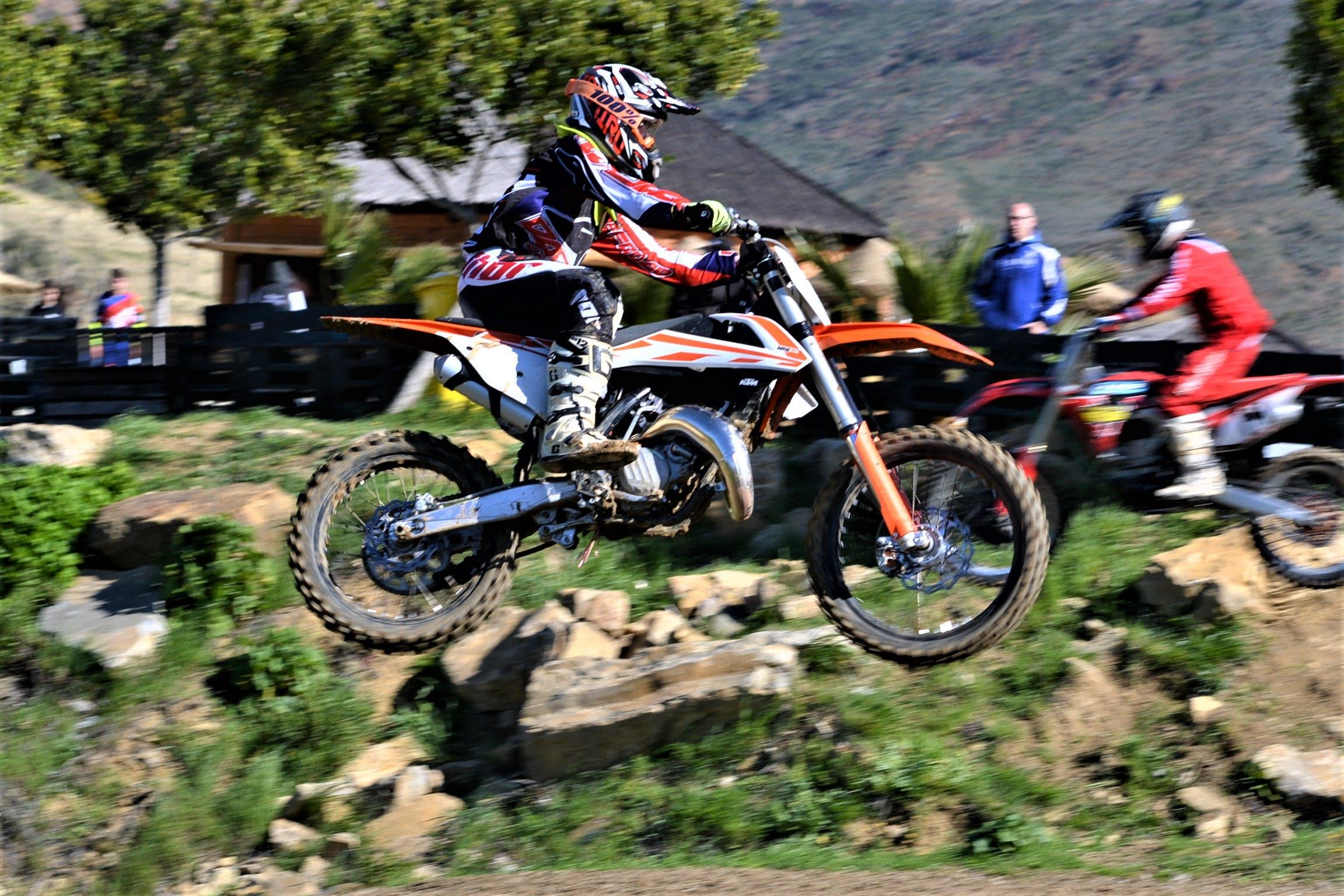 Free stock photo of biker, jump, motocross, Raider