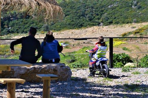 Free stock photo of biker, family, motocross
