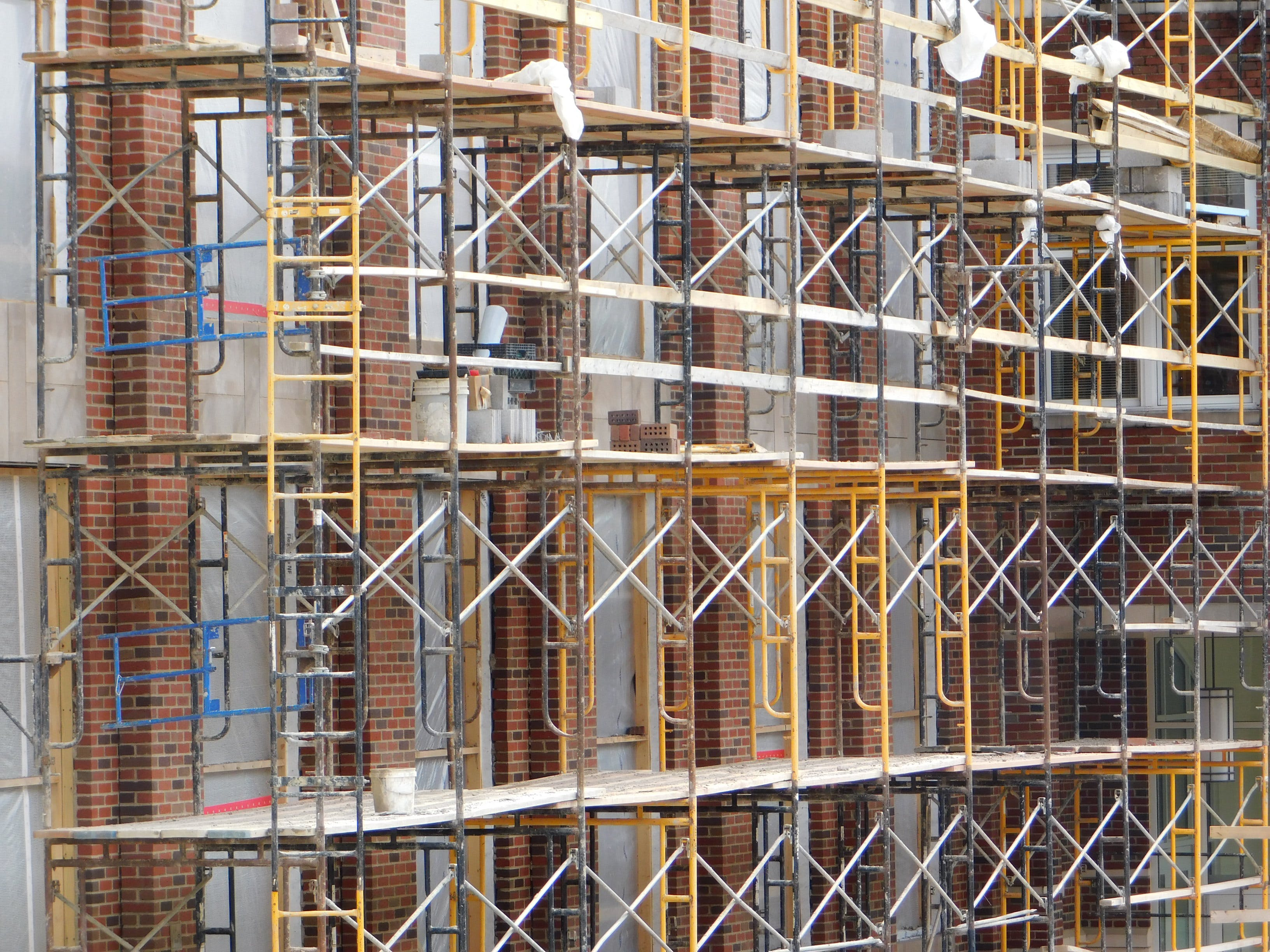 Free stock photo of construction, construction site, masonry