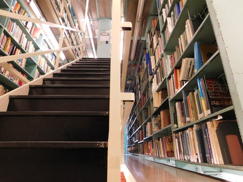 Free stock photo of archive, books, library, shelves