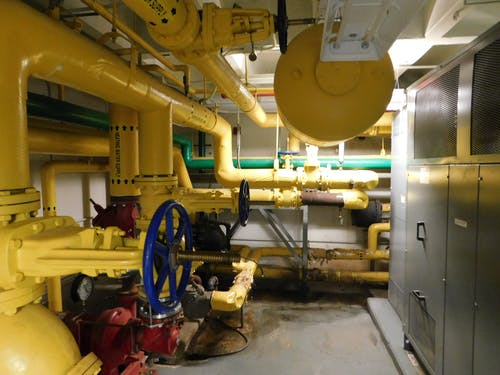 Free stock photo of boiler room, mechanical, valve