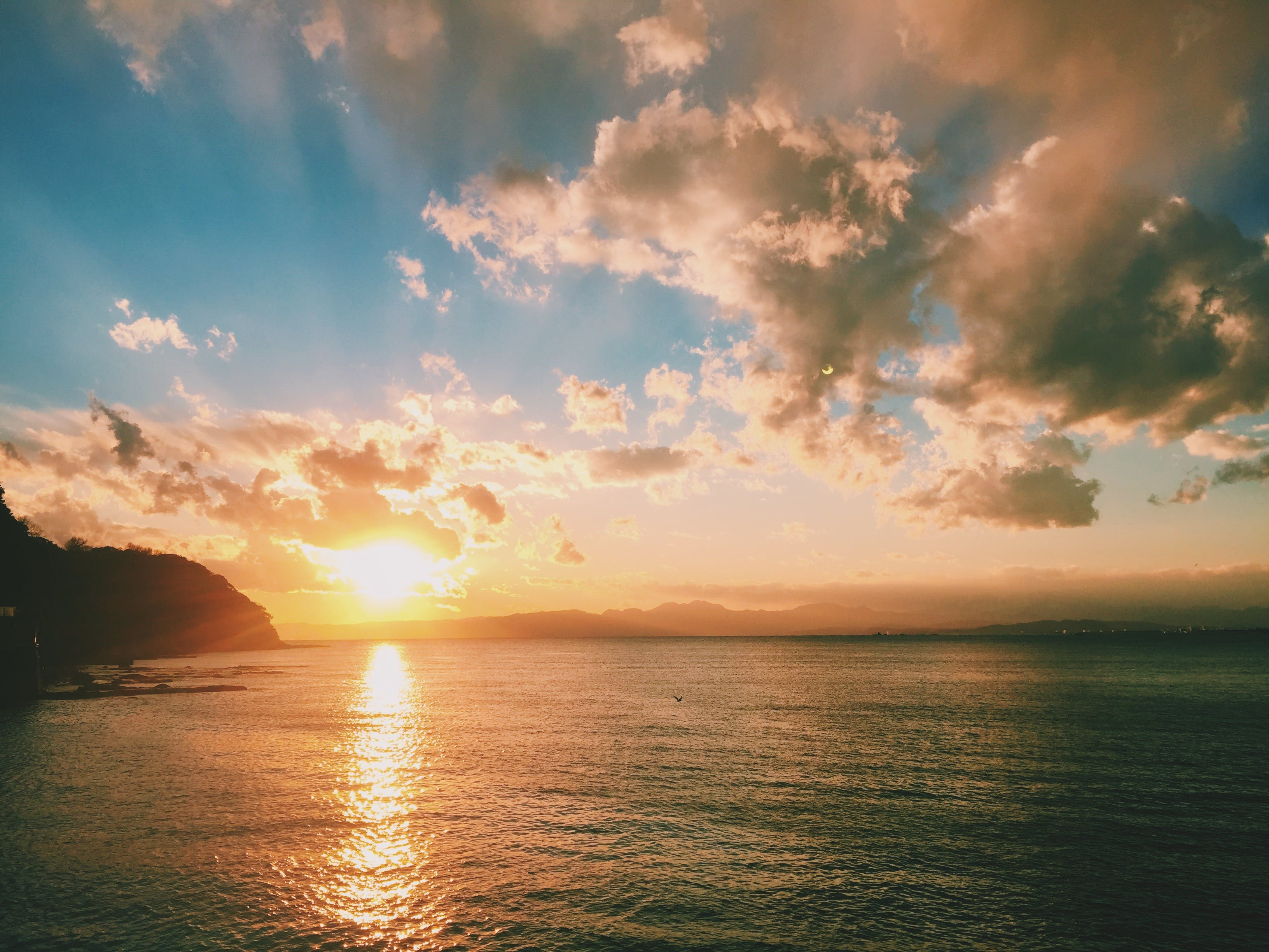 Darmowe zdjęcie z galerii z chmury, malowniczy, morze, natura