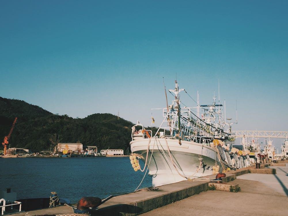 Ship Beside Dock