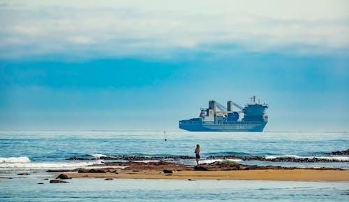 Kostnadsfri bild av fartyg, gryning, hav
