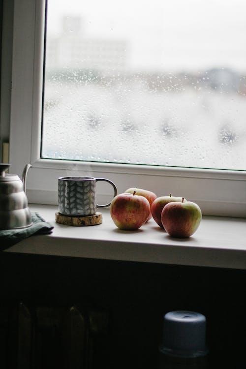 Photos gratuites de à l'intérieur, aliments, apple