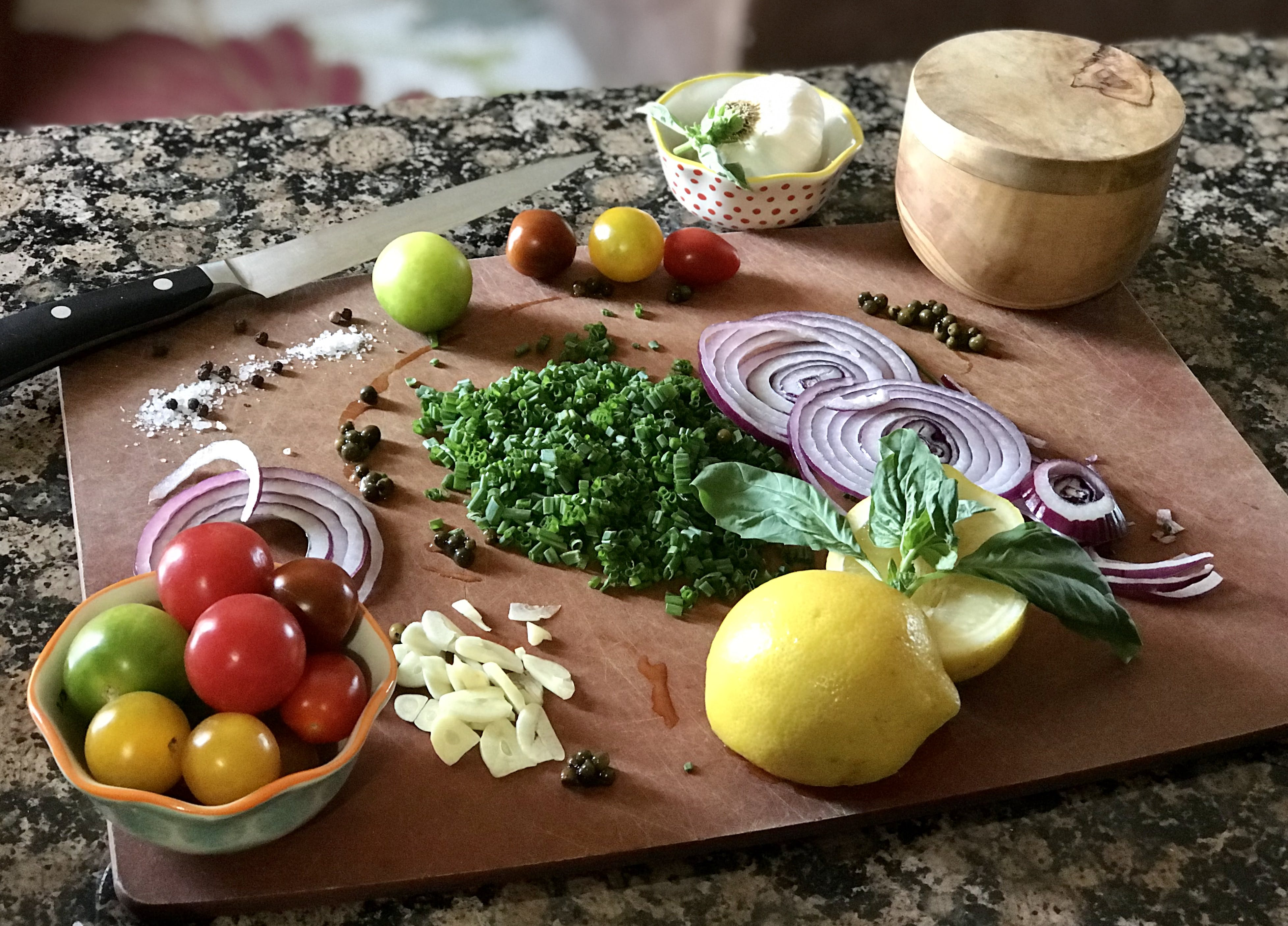 cutting board, food preparation