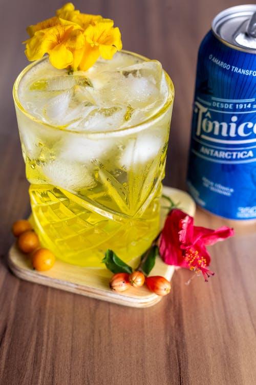 Základová fotografie zdarma na téma alkohol, čaj, citron
