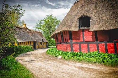 Free stock photo of art, buildings, dramatic, farm