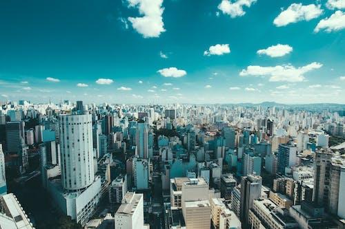 Foto d'estoc gratuïta de brasil, cel, ciutat, edificis