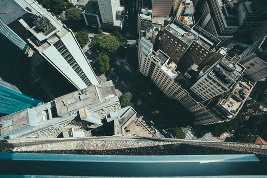 Free stock photo of city, bird's eye view, street, buildings