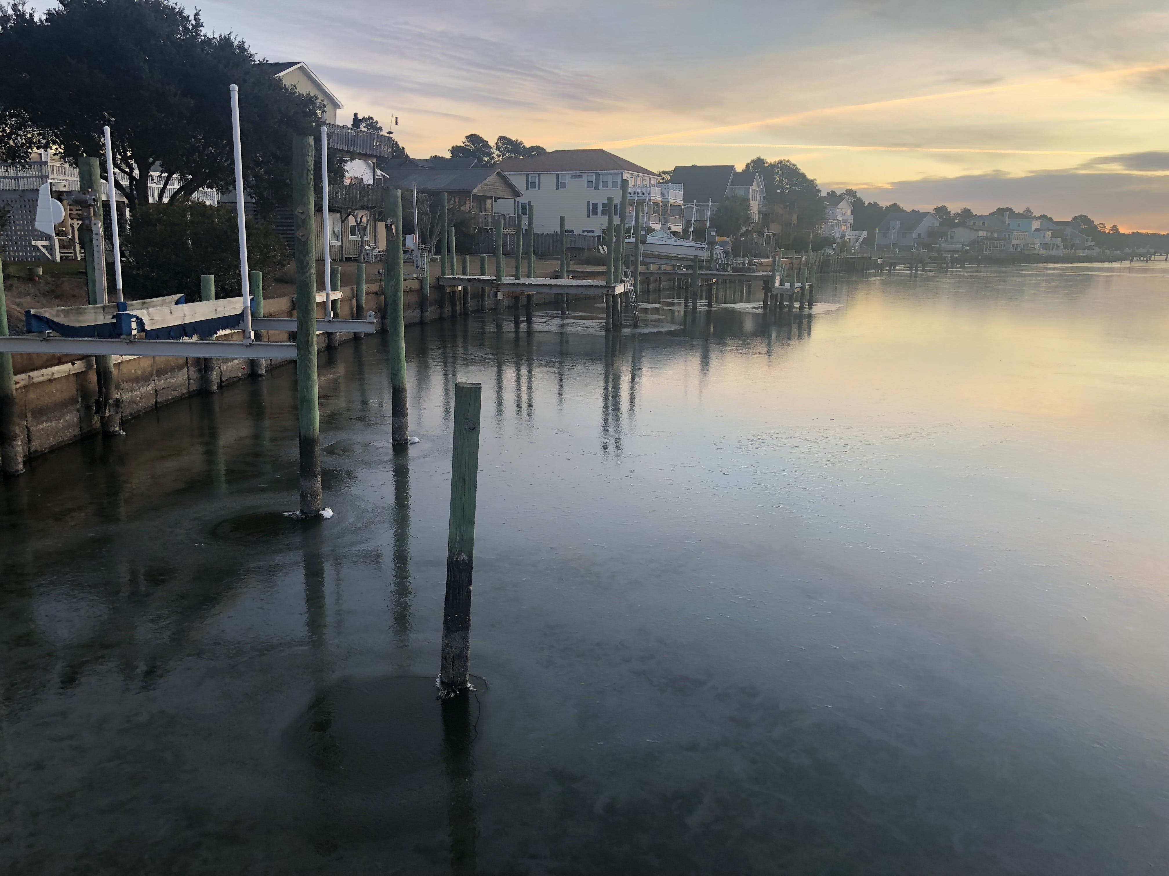 Free stock photo of water, sunrise, morning sun, icy