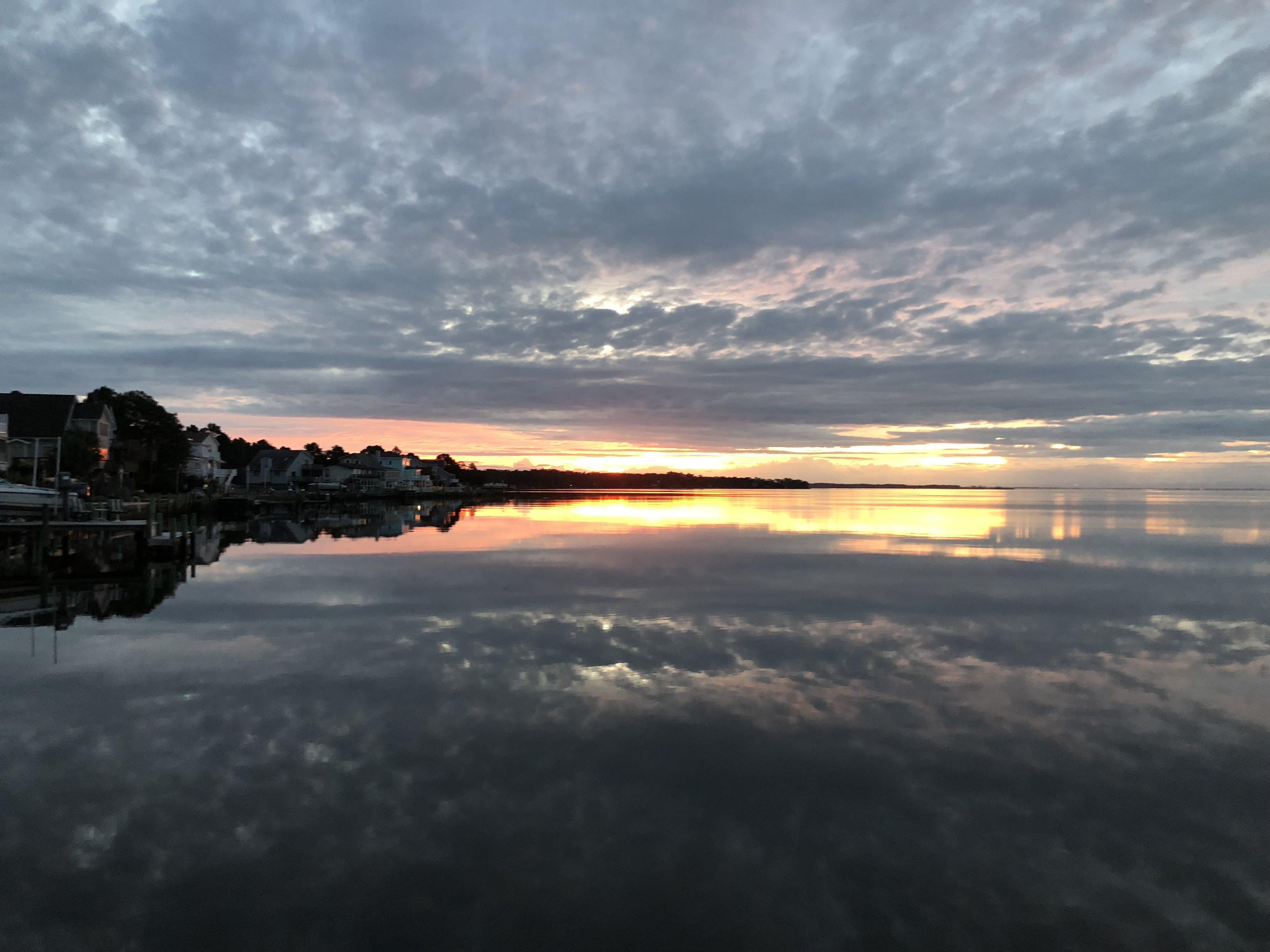 Free stock photo of sunset, reflections, morning sun, evening sun