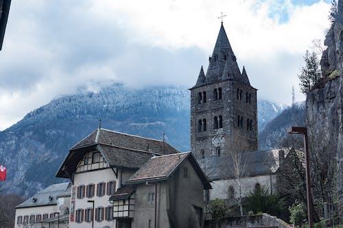 Základová fotografie zdarma na téma architektura, budova, církev, denní světlo