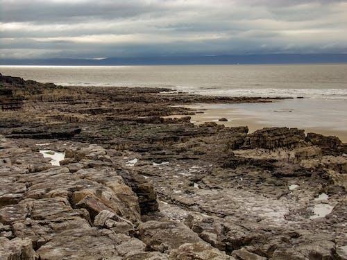 Foto d'estoc gratuïta de mar, penya-segats, platja, porthcawl