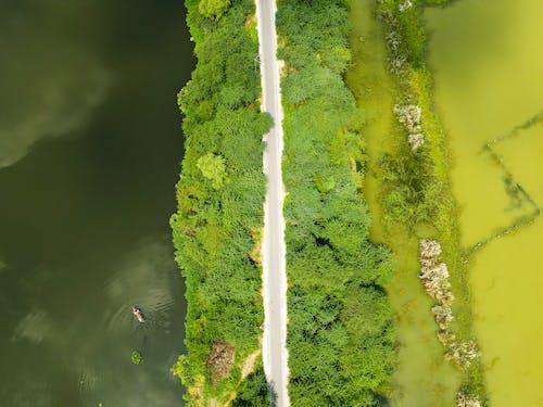 Gratis lagerfoto af @outdoor, antenne, båd